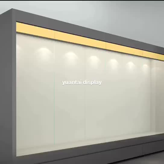 Hot sale Glass museum  showcase for museum exhibition room metal multiple perspective showcase for museum