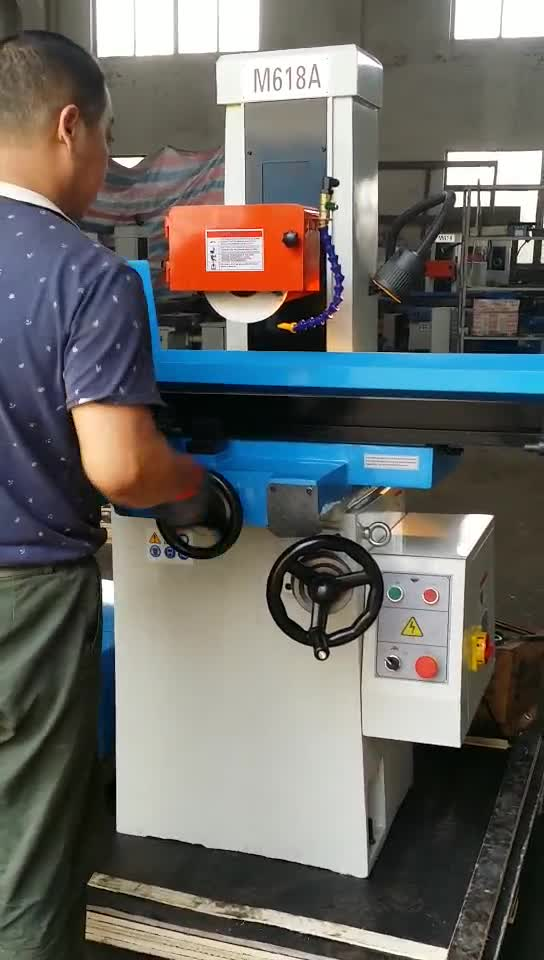 2018 best price Universal Manual surface grinding machine M618A(460x180) for sales