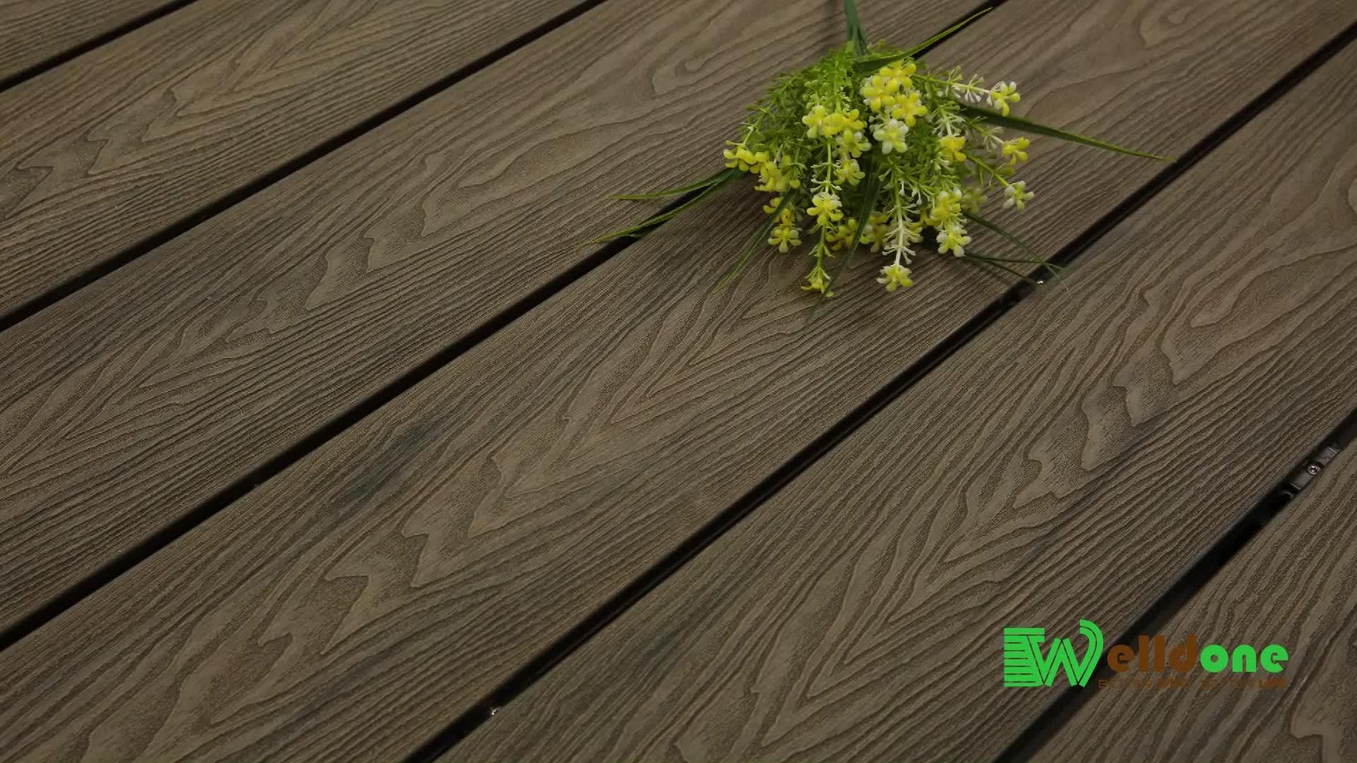 Bois Pour Terrasse Extérieure bon marché 3d grain de bois wpc ipe parquet bois pvc plancher prix terrasse  extérieure asiatique teck composite platelage pour piscine - buy platelage