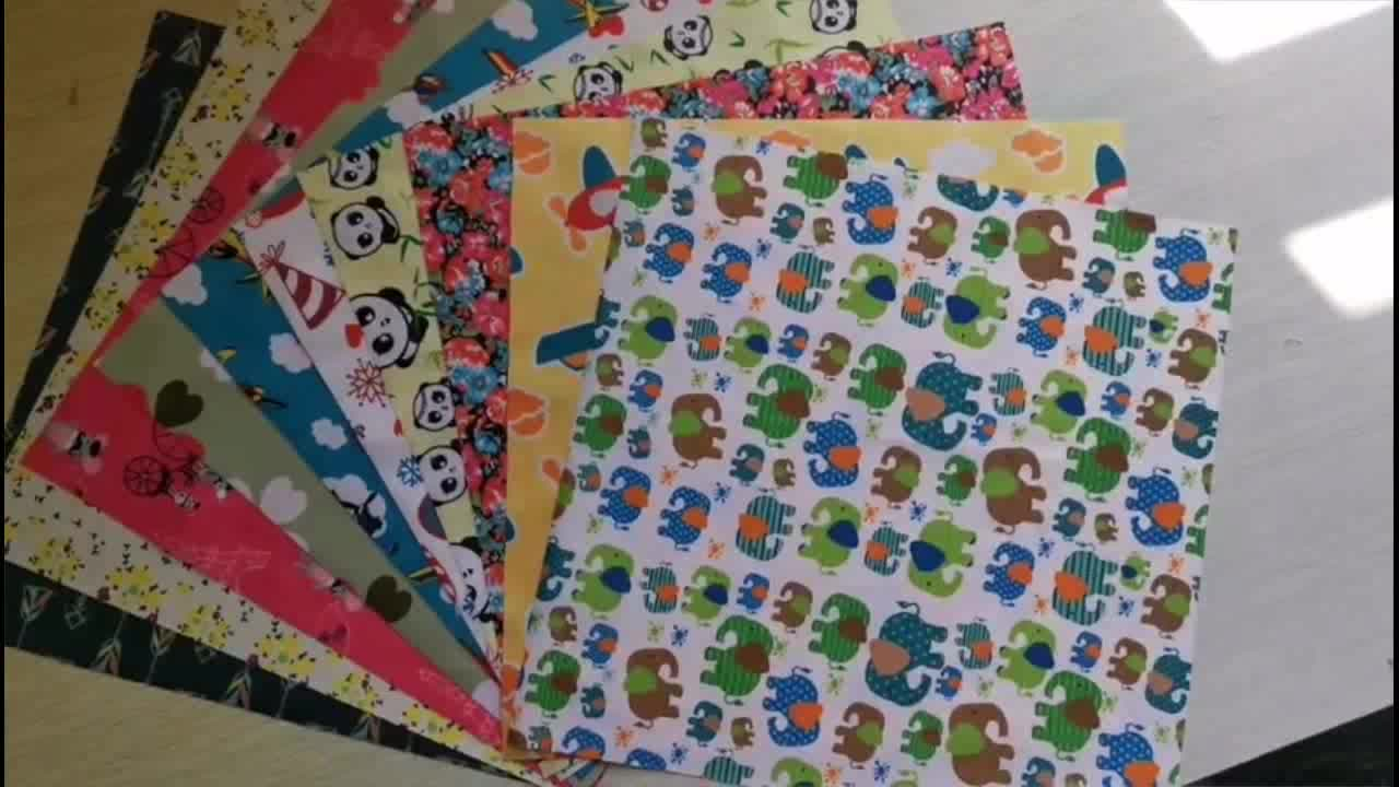 Waterproof Fabric Customized Digital Printed PUL Fabric