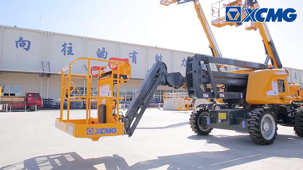 XCMG Hot Jual Hidrolik Articulated Boom Lift XGA26 Cina Baru 26M Man Lift Boom Aerial Work Platform Harga Mesin