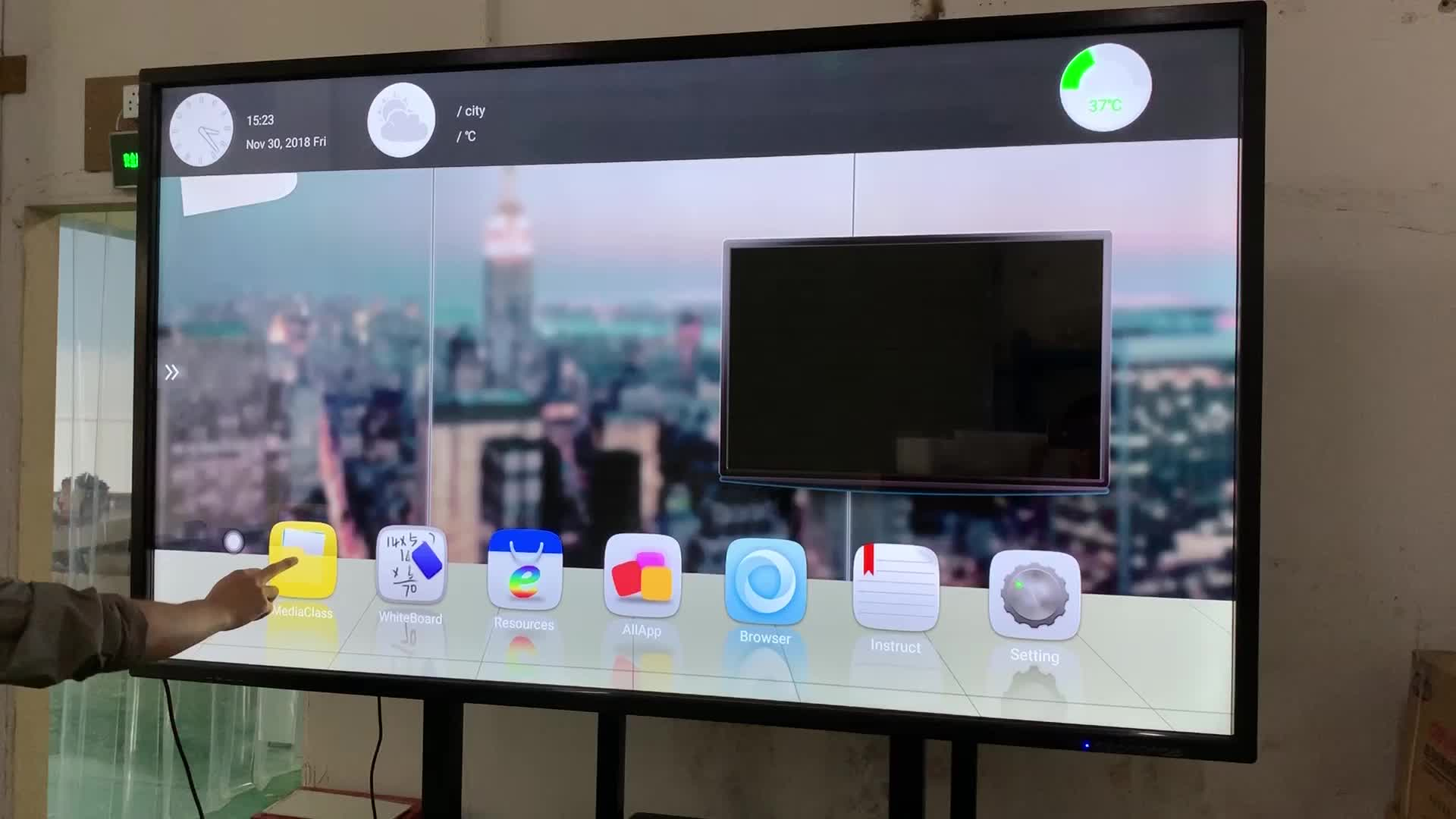 "factory cheap price 85"" 86"" inch LED TFT LCD E-board smart electronic interactive whiteboard touchscreen for school meeting"