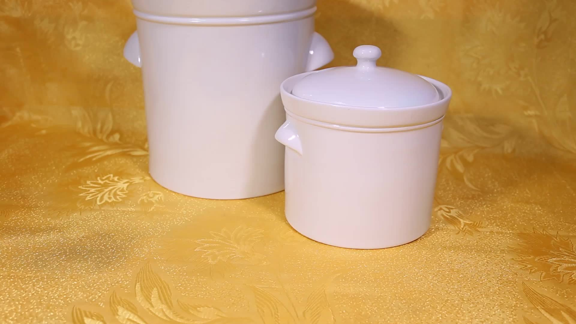 High quality porcelain crock pot fermenting jar