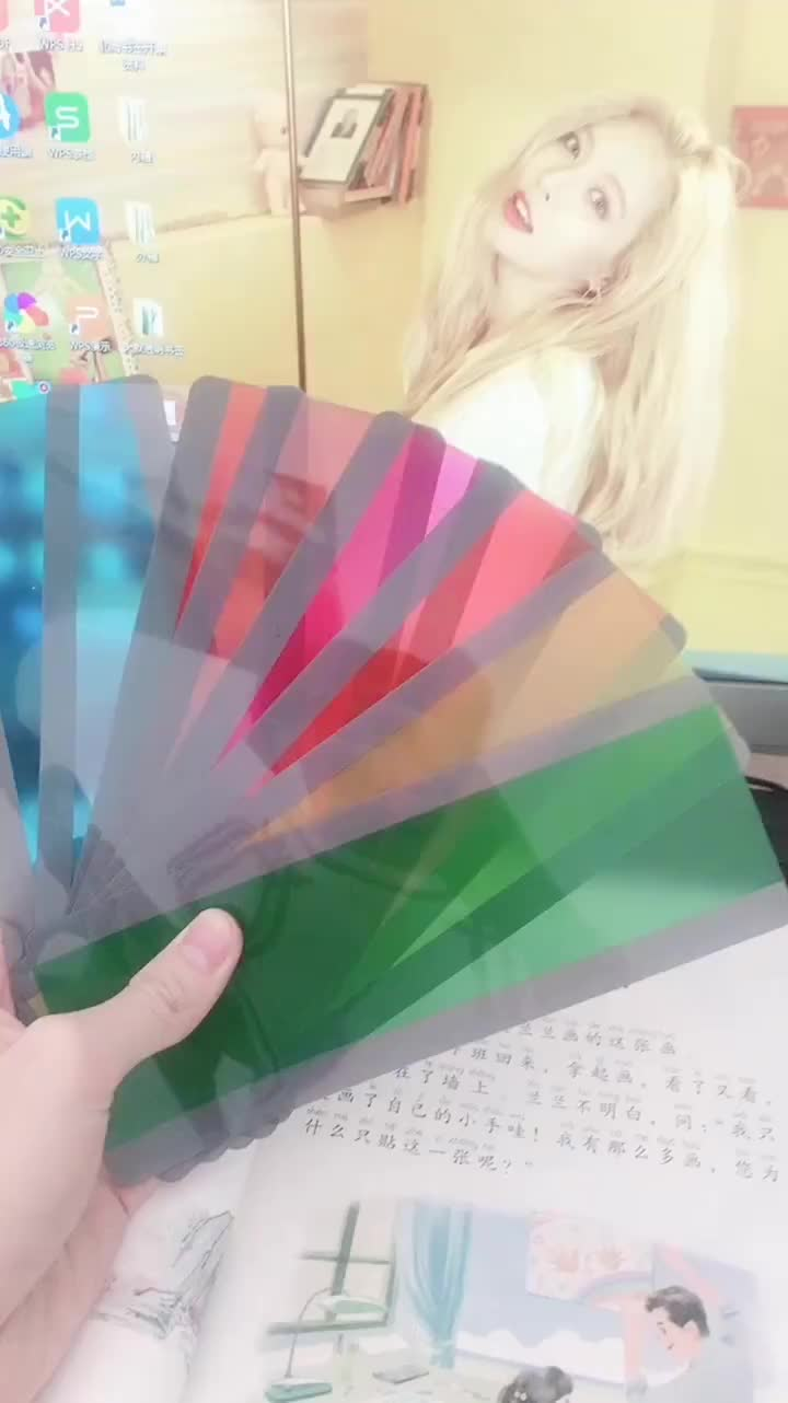best price colorful transparency pvc bookmark with good quality