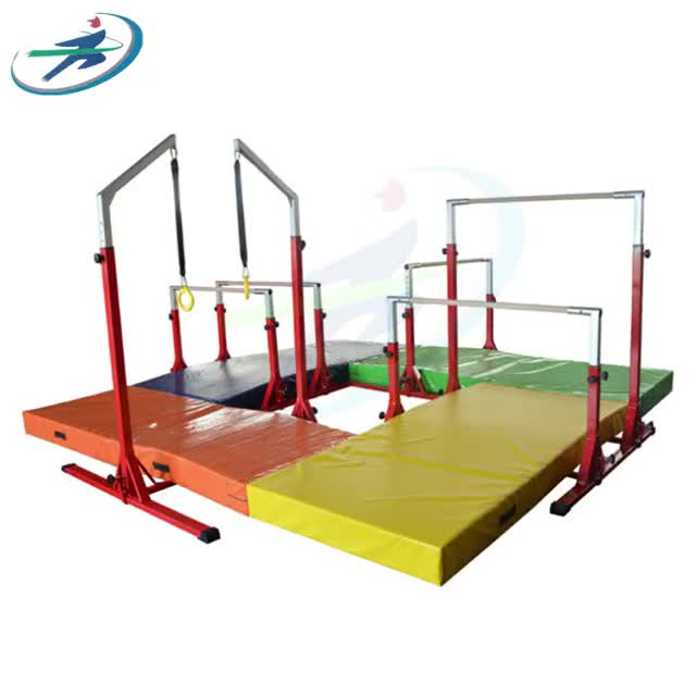 Indoor einstellbare Horizontale Bar Gymnastik Junior Kip Bar Hause Kinder Turnhalle Training horizontale bars