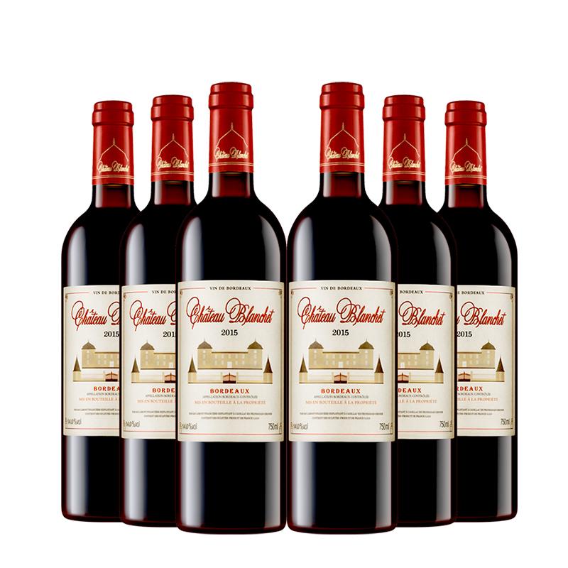 【进口】法国原瓶进口红酒拉蒙布兰特酒庄14度干红葡萄酒750ml*6