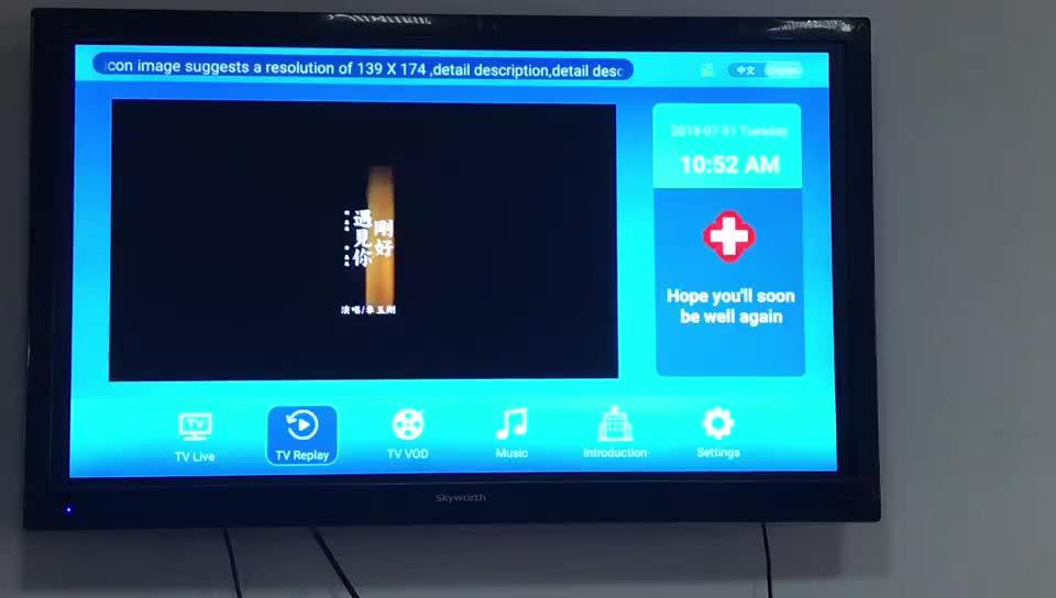 LAN WAN FTTH OLT IPTV System Solution
