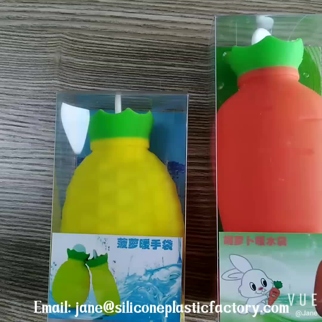 China Fabrikant Fabriek Prijs Siliconen Rubber Warm Water Zak