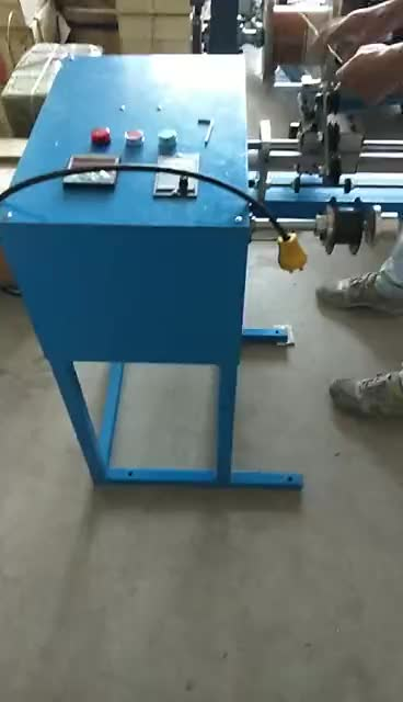 with meter counter homemade coil winding machine