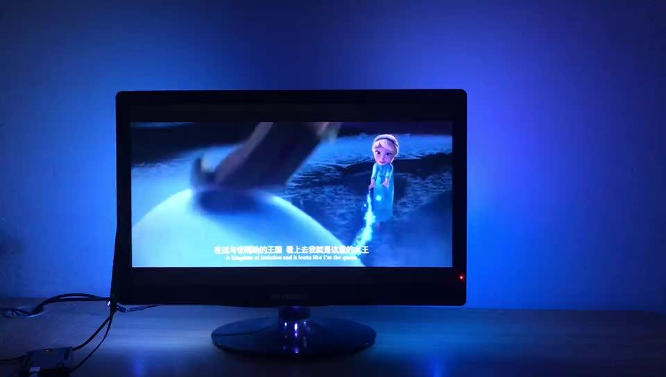 Kit Dream Screen 4K  SMART LED Backlighting Flex LEDs Kit Raspberry Pi Arduino best for 32''~80'' TV