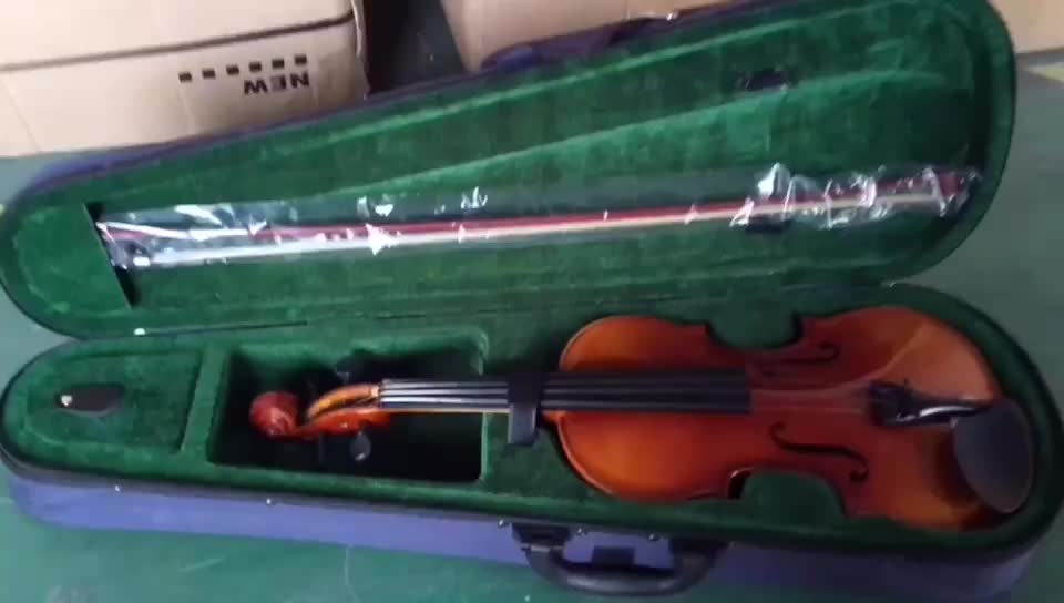 High quality Chinese violin with solid wood top
