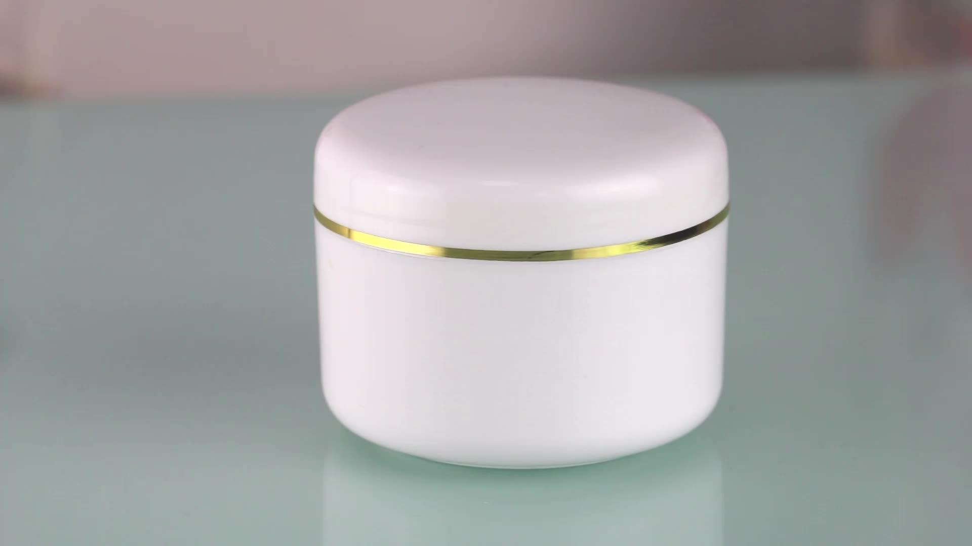 5G 15G 30G 50G di Crema Cosmetica Vuota Bottiglia di Gel Nail Polish Personalizzato di Plastica Del Chiodo Barattolo di Gel