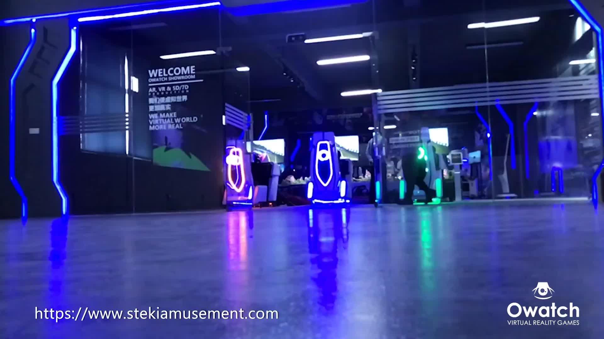Xem phim gia đình 9d điện ảnh mô phỏng với trò chơi tương tác, vui 9D VR Sản Phẩm cho công viên chủ đề