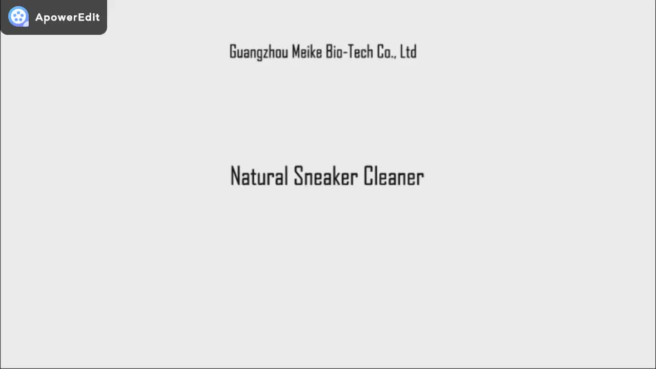 Natural Shoe Cleaner Cleaning Liquid Polish Set Foam Sneaker Shampoo Sneaker Sneaker Cleaner Formula Spray Care Kit With Brush