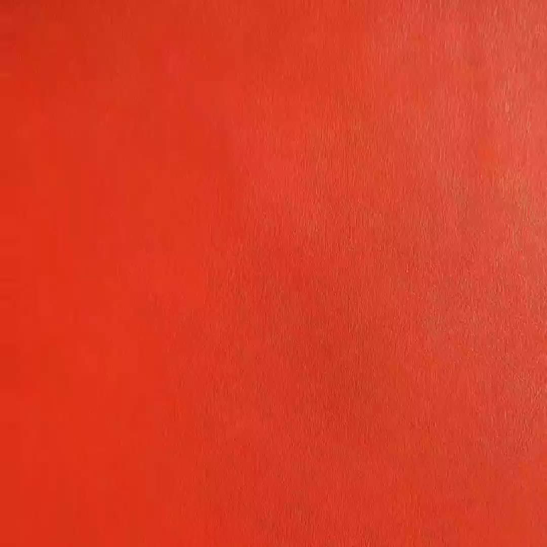 2020 hot selling red pu bonded  leather for shoe
