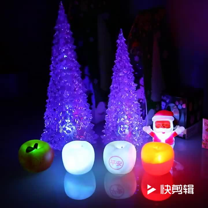 Wholesale Ligthed Acrylic Christmas Ornaments Acrylic Christmas Tree Decorating Manufacturer In China