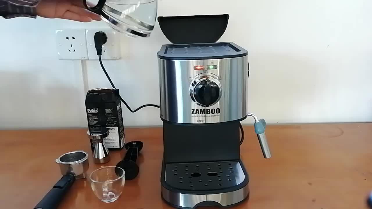 Expreso With Video 650 Watts Coffee Machine One Touch Turkish Coffee Machine