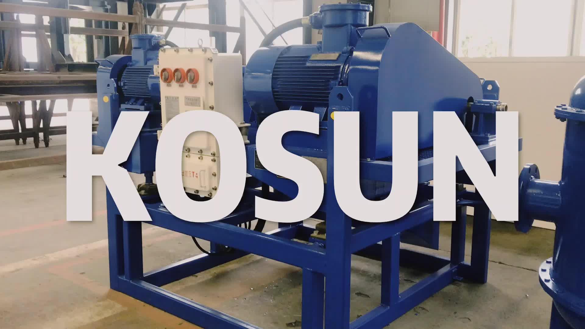 High Quality Drilling fluids Decanter Centrifuge