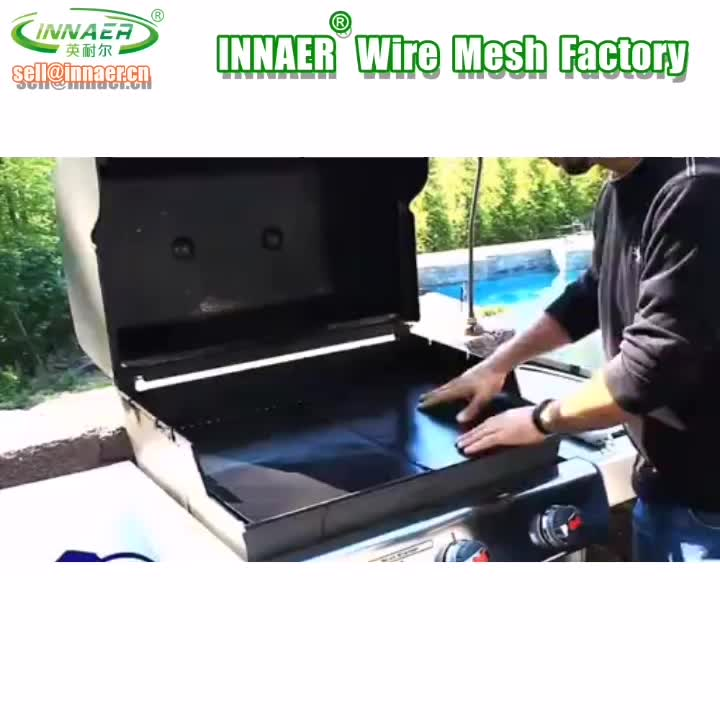 INNAER Best BBQ Grill Mat Heavy Duty 600 Degree Non-Stick Mats