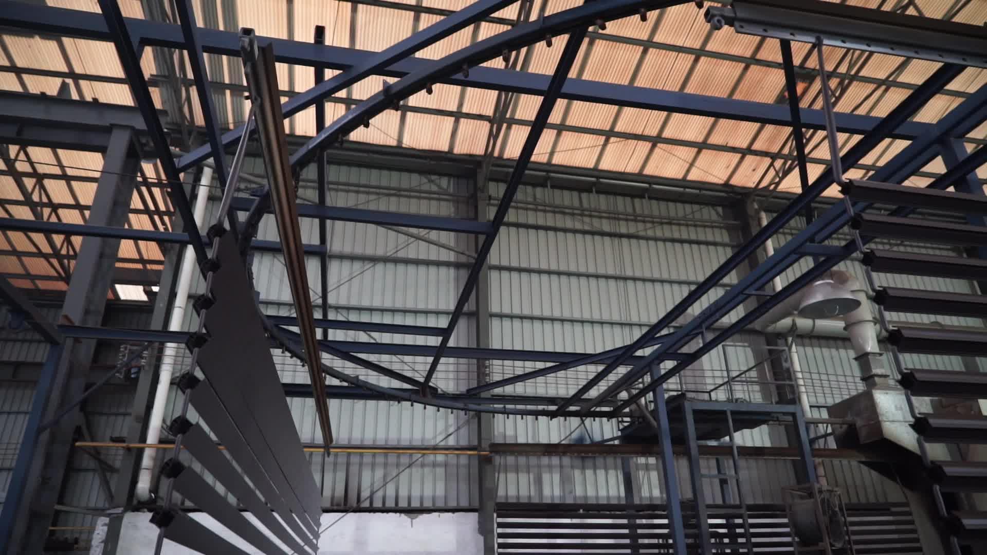 Aluminium Panel Kaca Louver/Jendela Jalusi Windows Pembuatan Di Foshan
