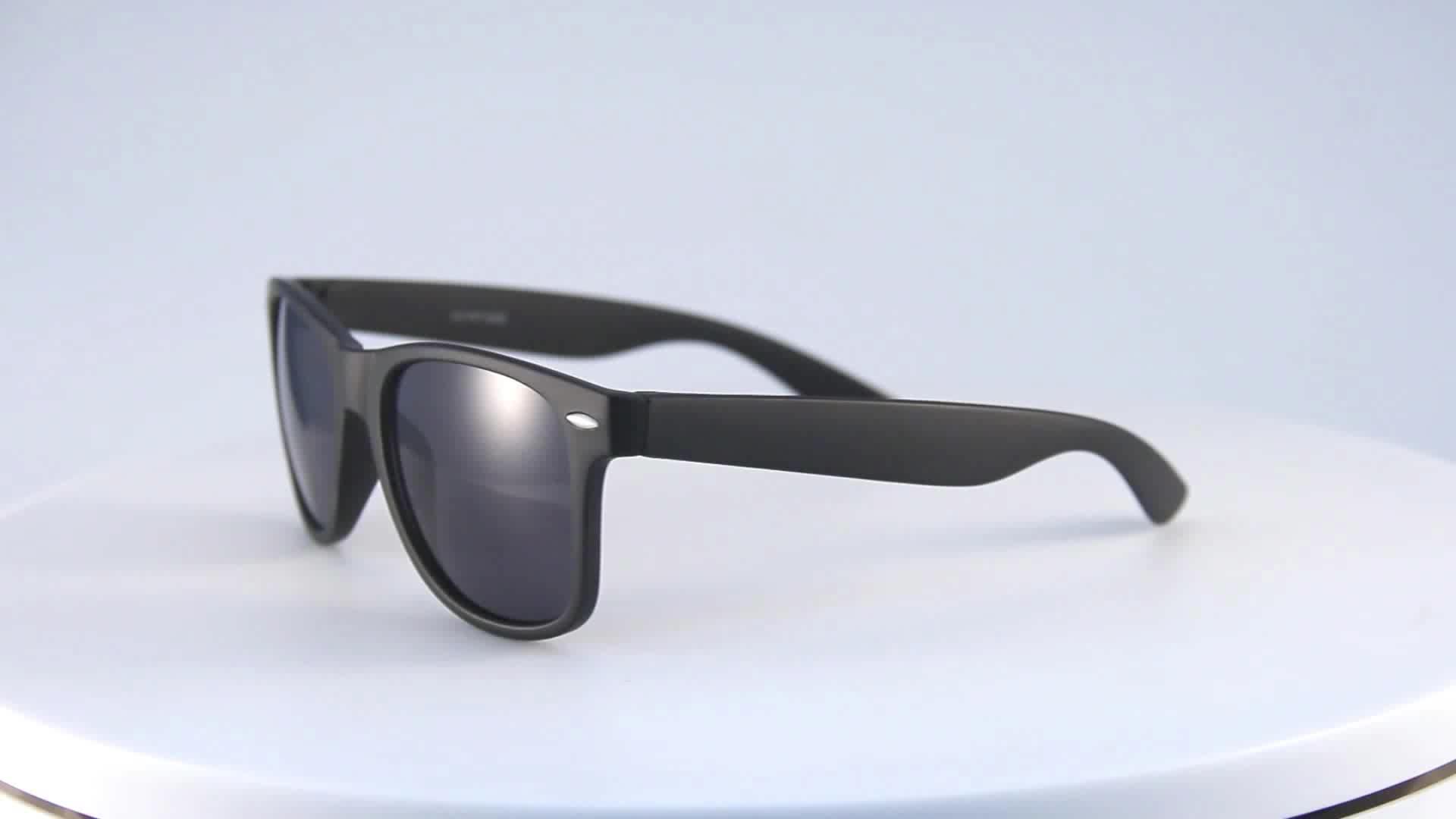 Hot selling unisex promotional sunglasses high quality cheap plastic sunglasses 2020