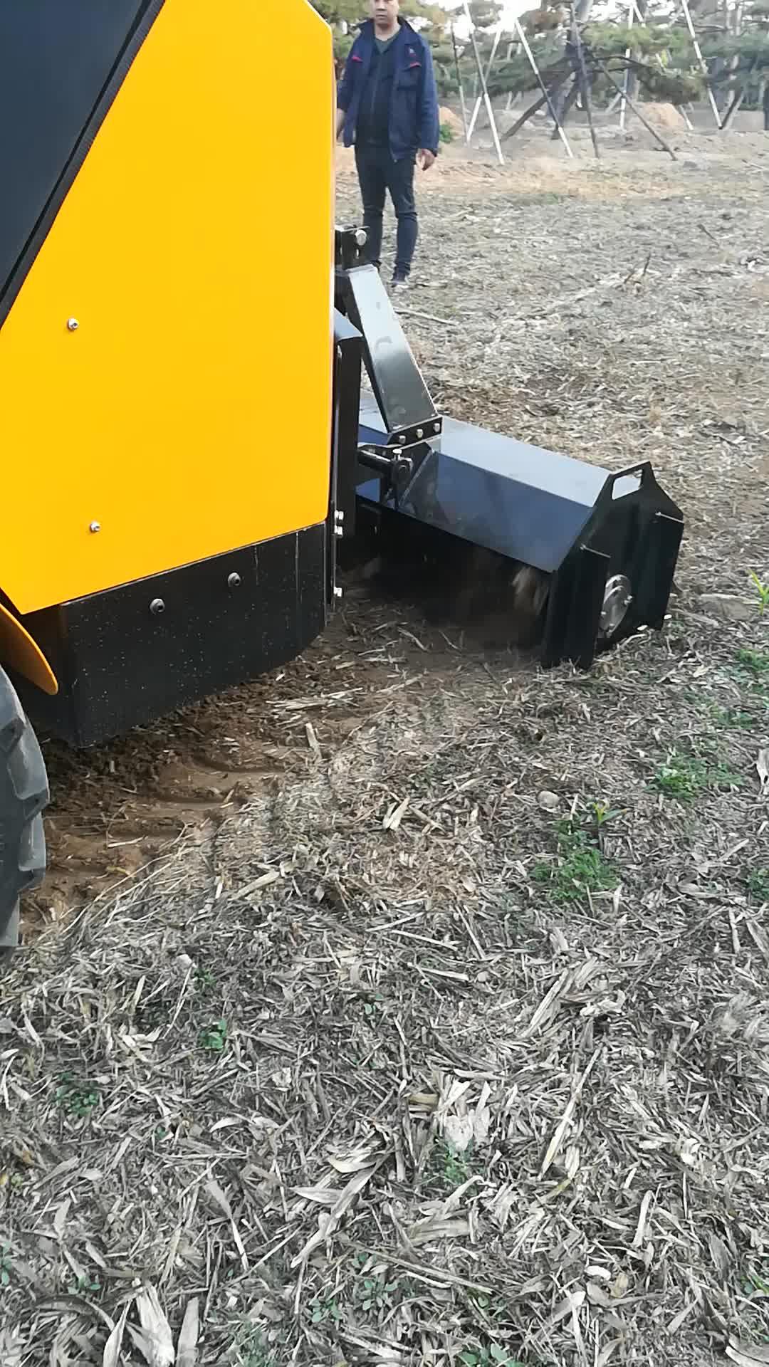 Idraulico di alimentazione rotante barra del timone per loader trattore
