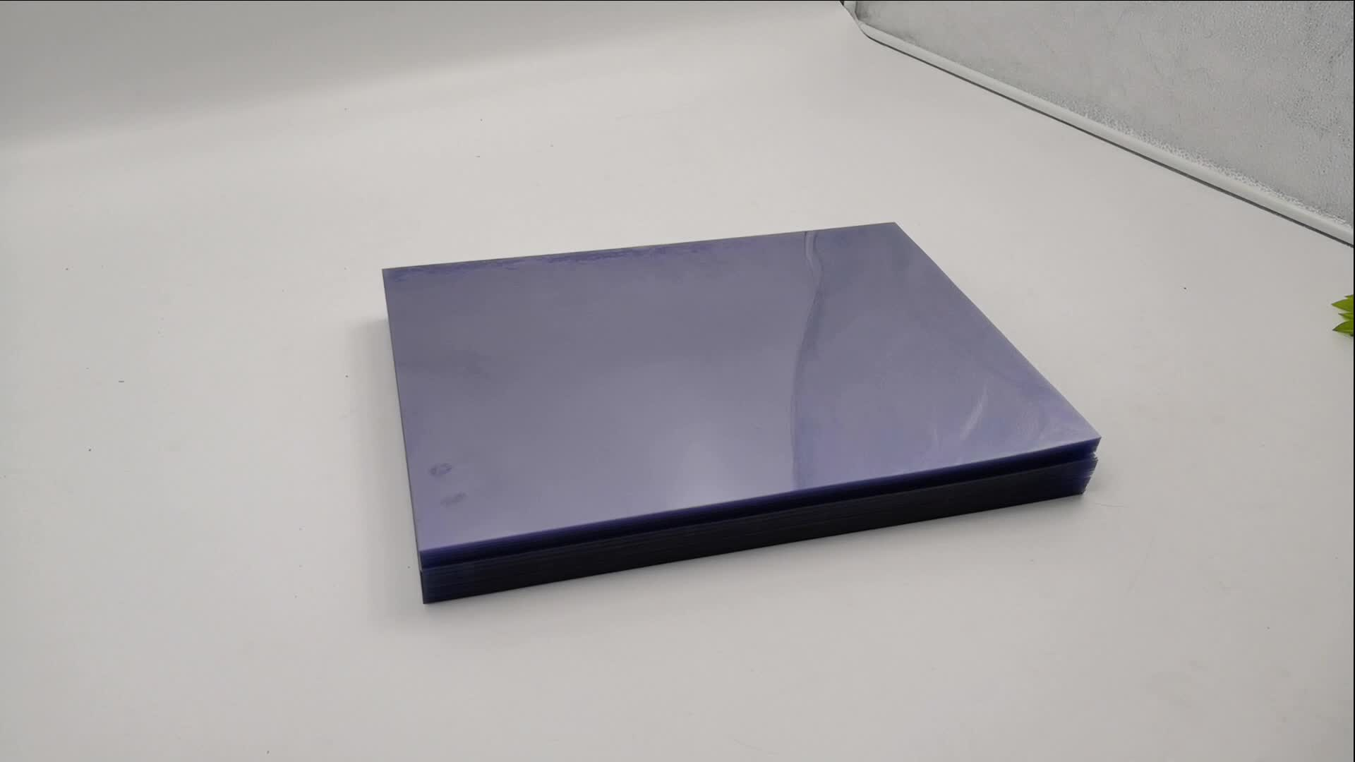 a2 a3 a4 clear rigid pvc sheet for binding cover and printing