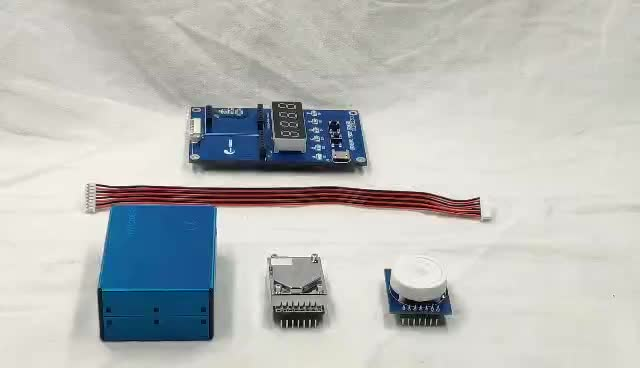 Professional formaldehyde and pm2.5 test board