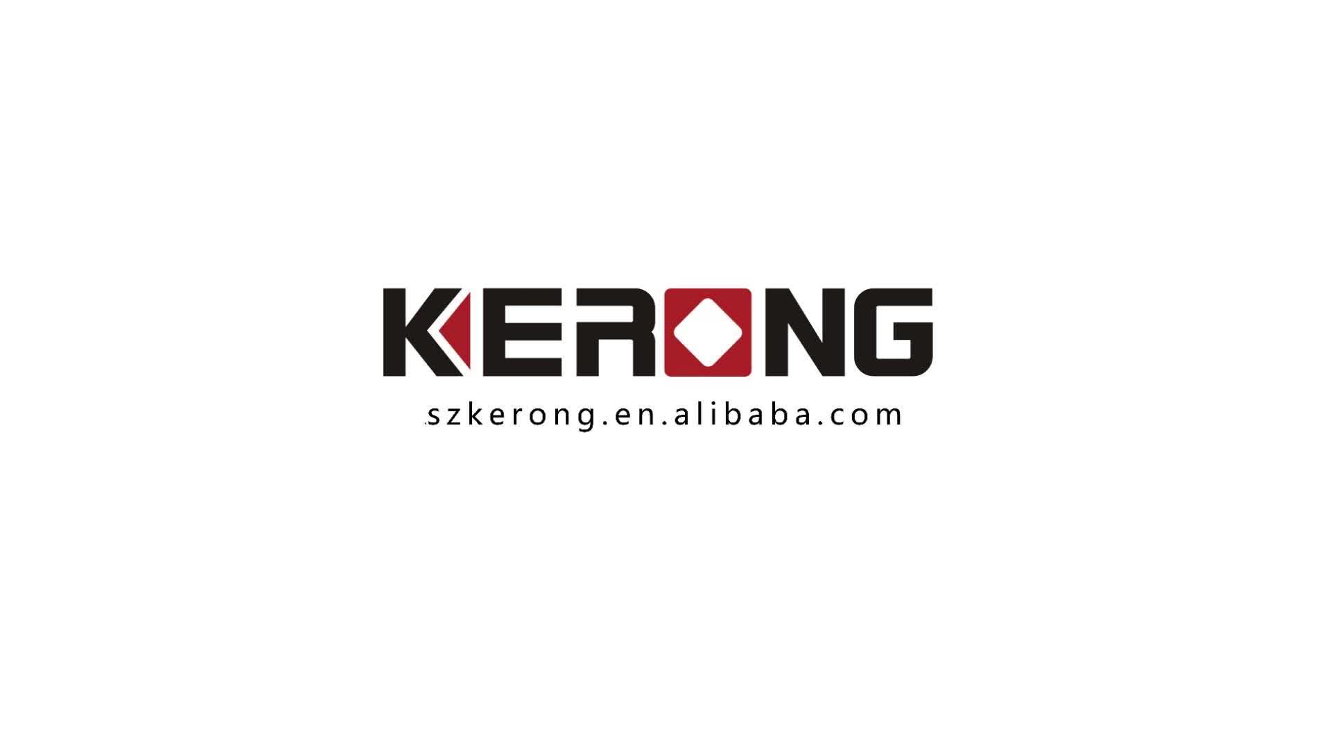 KERONG  High Security Touch Screen Wheel Lock For Office ,Furniture