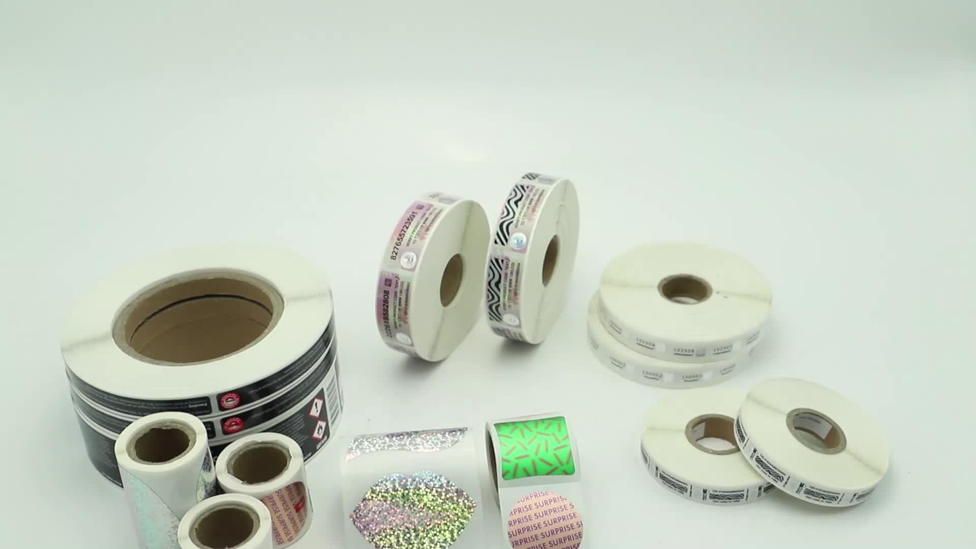 Pinnacle High Security Anti-fake Scratch Off Label and Sticker Zebra Type