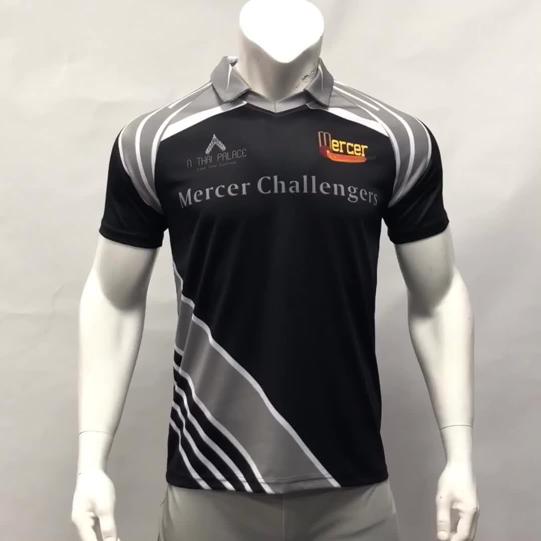 Benutzerdefinierte Sport T-shirt Cricket Uniform Neue Design Kricket-trikots