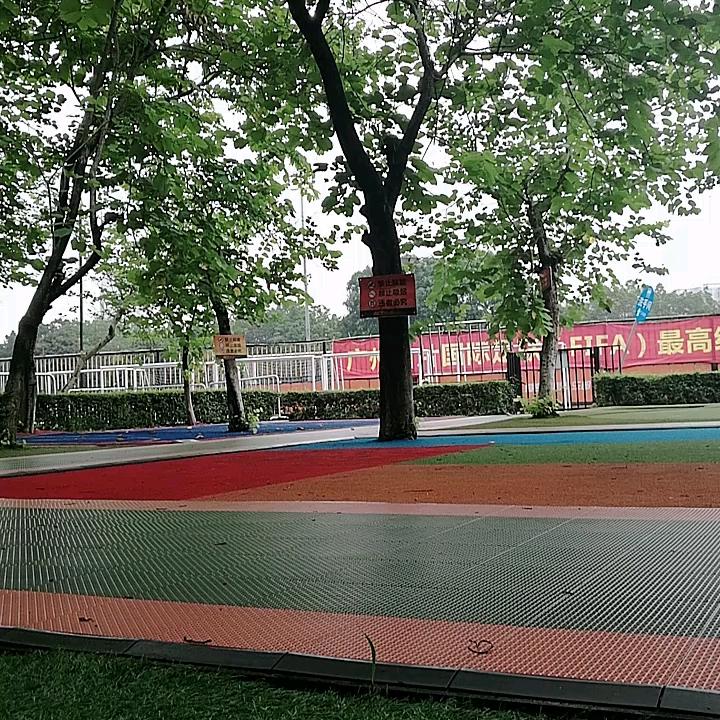 Mật Độ cao gạch thảm LX50 thảm cỏ Mềm Turf mat