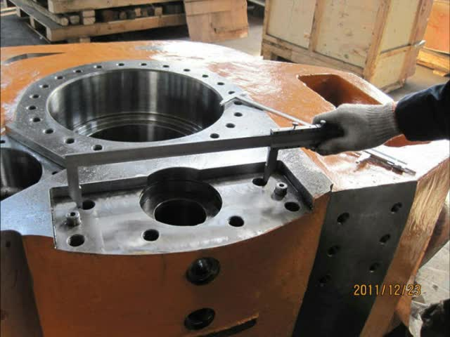 Densen customized Gearbox used in oil drilling,Alloy steel ASTM A148105-85 resin sand casting,gearbox housing casting