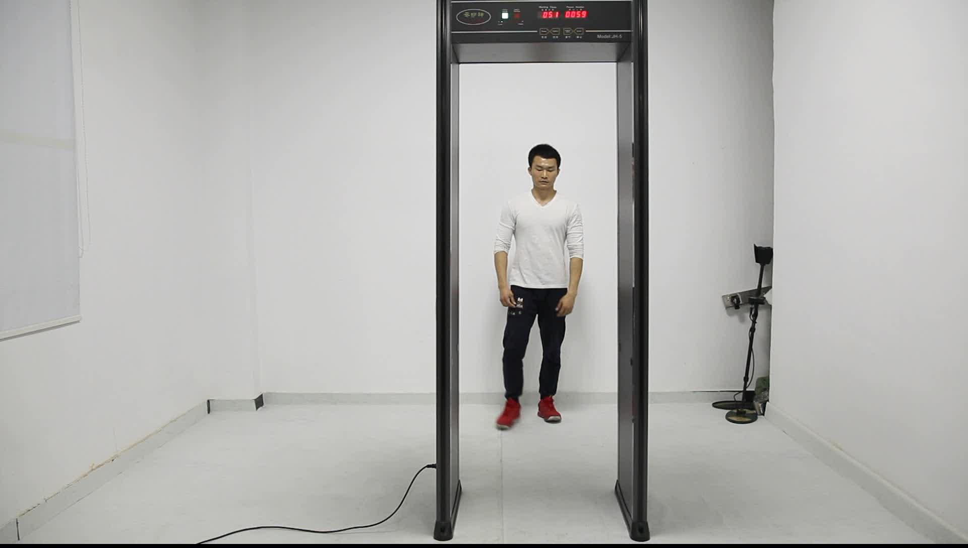 China Factory Wholesale Price 6 Zones Walk Through Metal Detector Archway Metal Detector