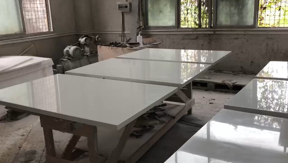 Acrylic solid surface kitchen table sets, Dining Set Dinner Table with Chairs