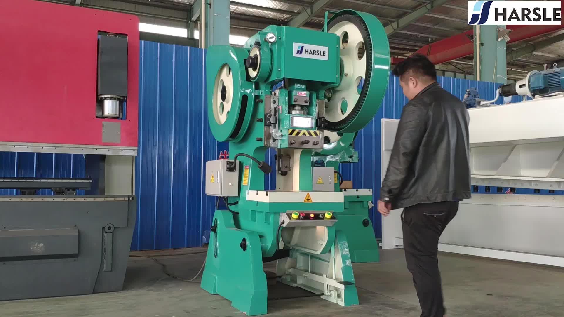 J23 de máquina de la prensa de perforación para perfil de aluminio de placa de máquina de la prensa de venta al por mayor de china proveedor