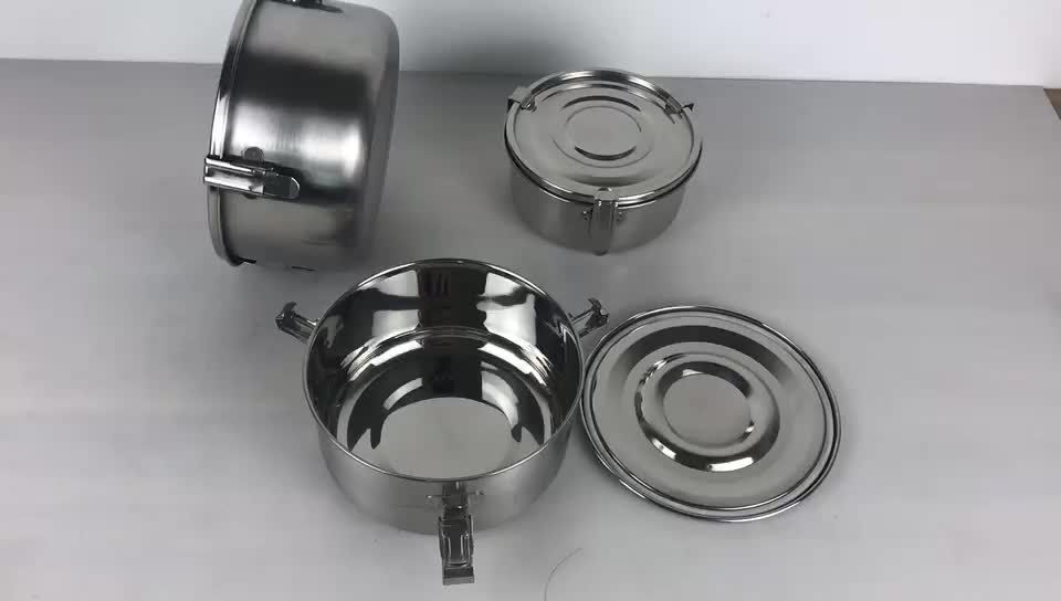 New Product Ideas 2019 Metal Lunch Box Stainless Steel Kitchen Container
