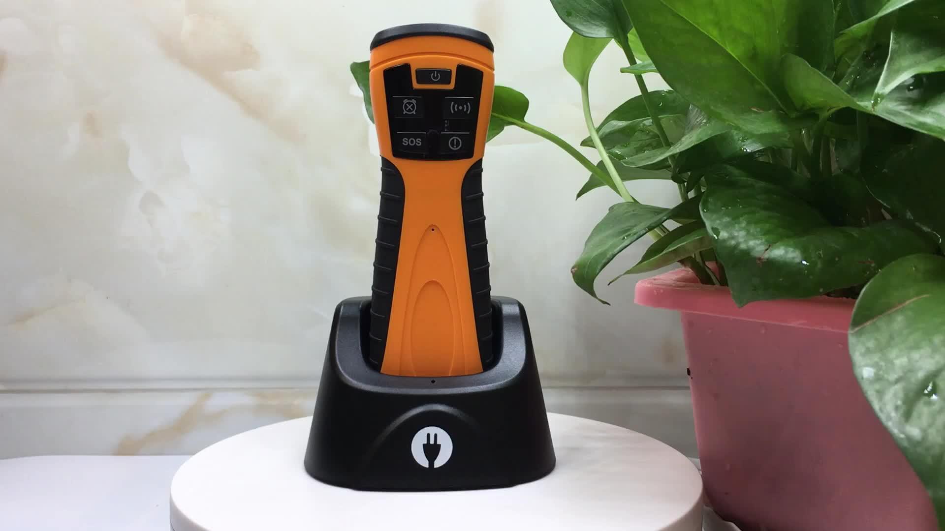 Nieuwste GPRS/GPS Real Time RFID Guard Klok Apparaat Beveiliging Patrol Controle Systeem