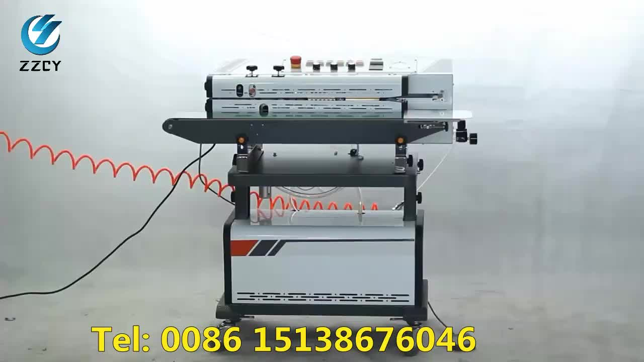 Automatic heat sealing machine vacuum nitrogen flushing sealing machine