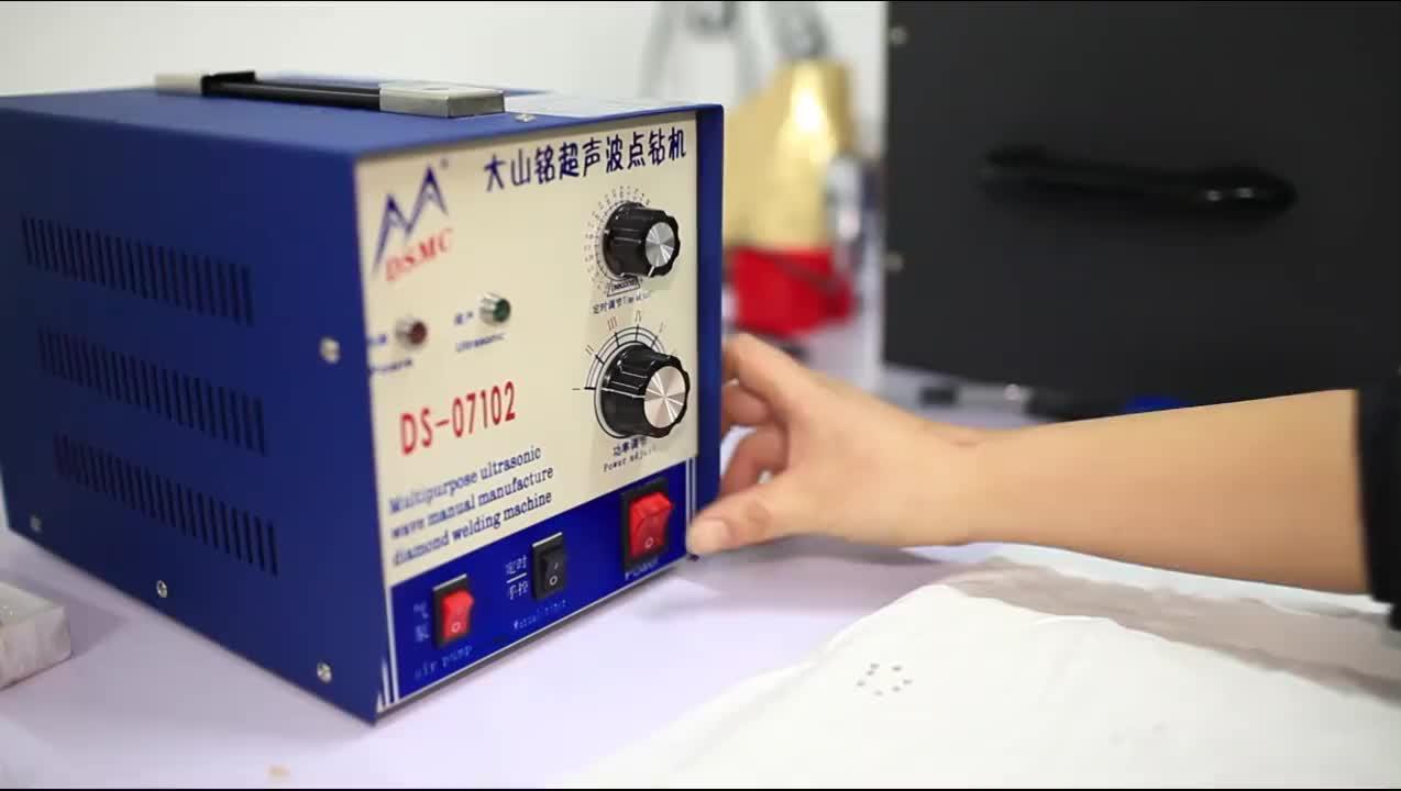 Ucuz Ultrasonik nokta kaynak makinesi taklidi sıcak sabitleme ayar makinesi