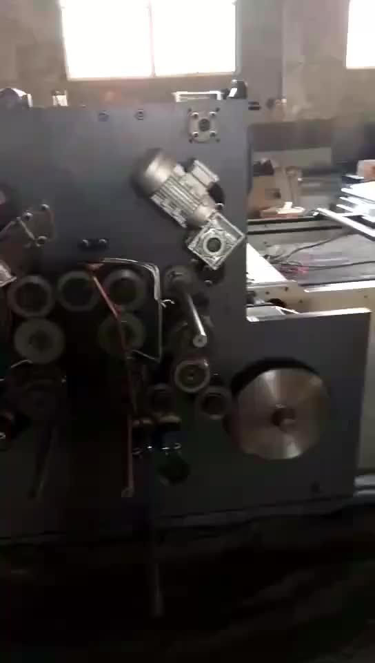 ZH SYKM-M Ad Alta Velocità 3 di Colore Stampa Automatica Sbozzare Rotativa Morire Macchina di Taglio