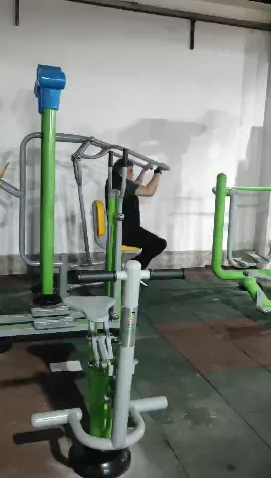 Atacado Casa Eco Ao Ar Livre Gym Fitness Equipment, Equipamentos de Ginástica