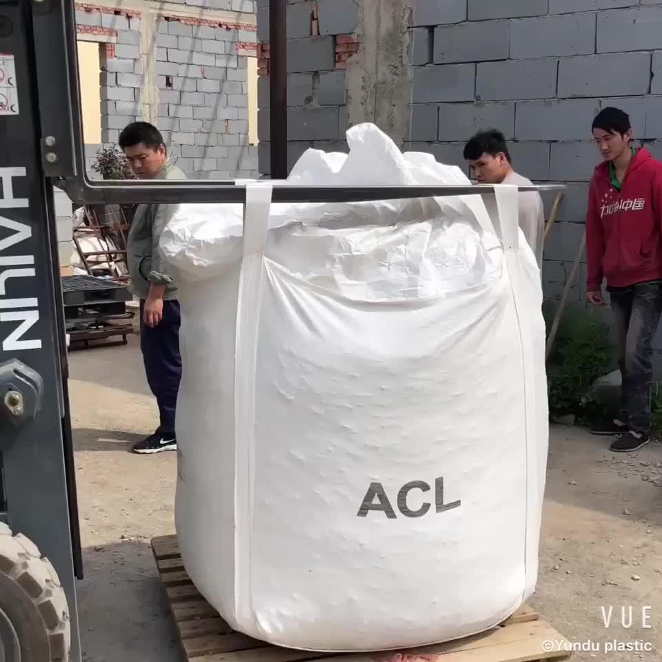 Yüksek kaliteli 2 tonluk büyük çanta 2 tonluk jumbo çanta 2 tonluk süper çuval 2000kg toplu çanta