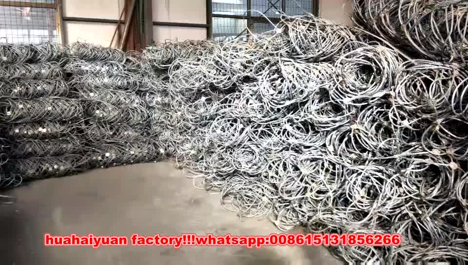 rockfall netting Slope Protection netting Slope wire rope netting