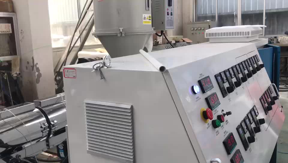 20-63mm pead pe pp linha da extrusão da tubulação de PPR/que faz a máquina linha de produção