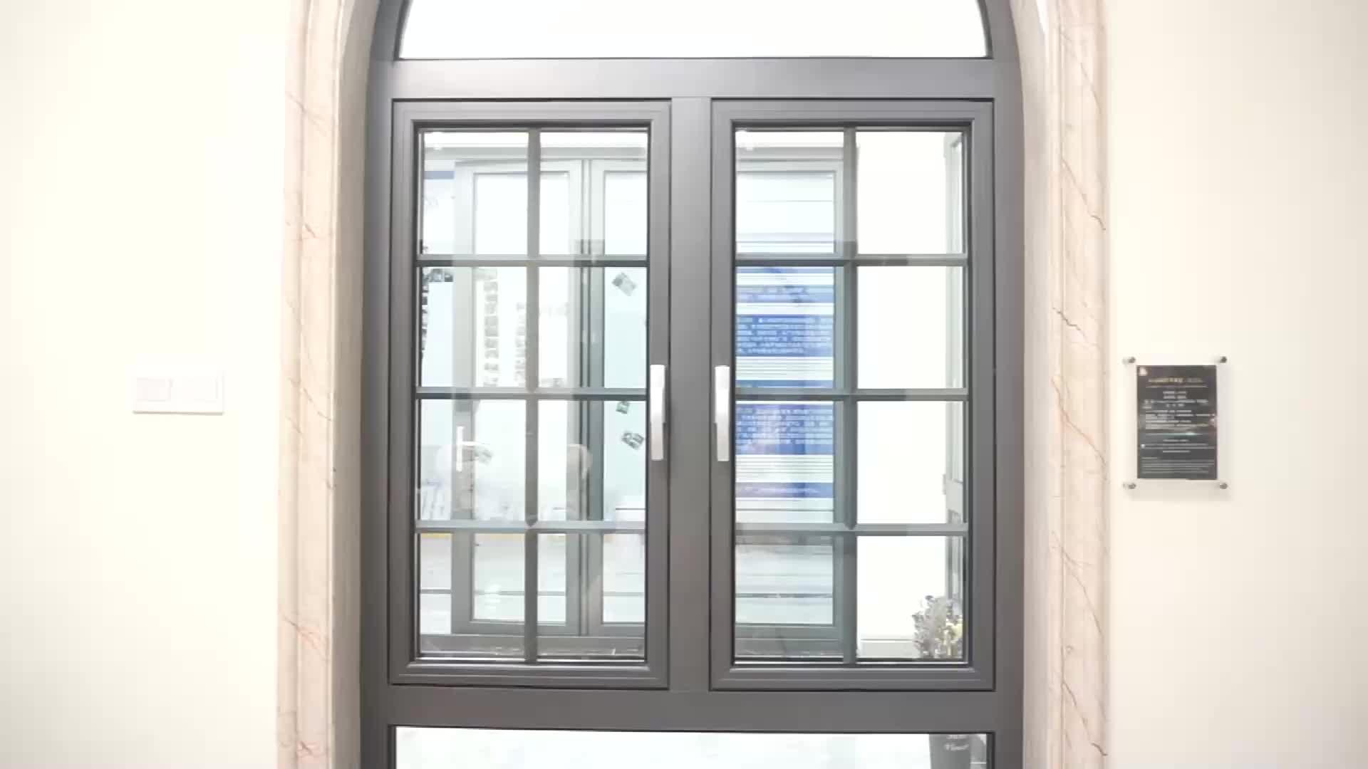 가장 인기있는 비용 효율적인 최신 디자인 사용자 정의 알루미늄 윈도우