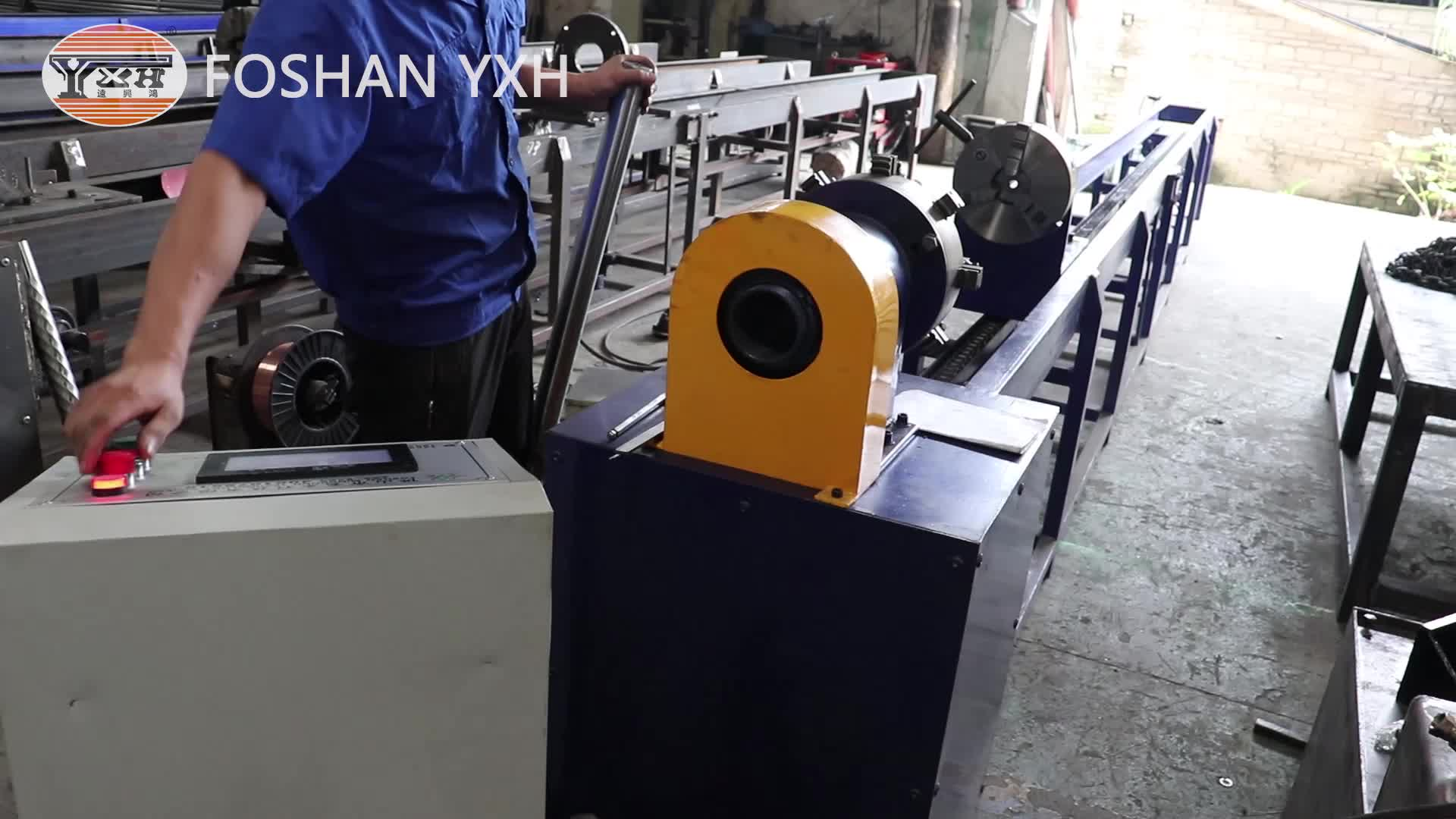 SS/Stainless Steel Pipe Rid/Threading Machine