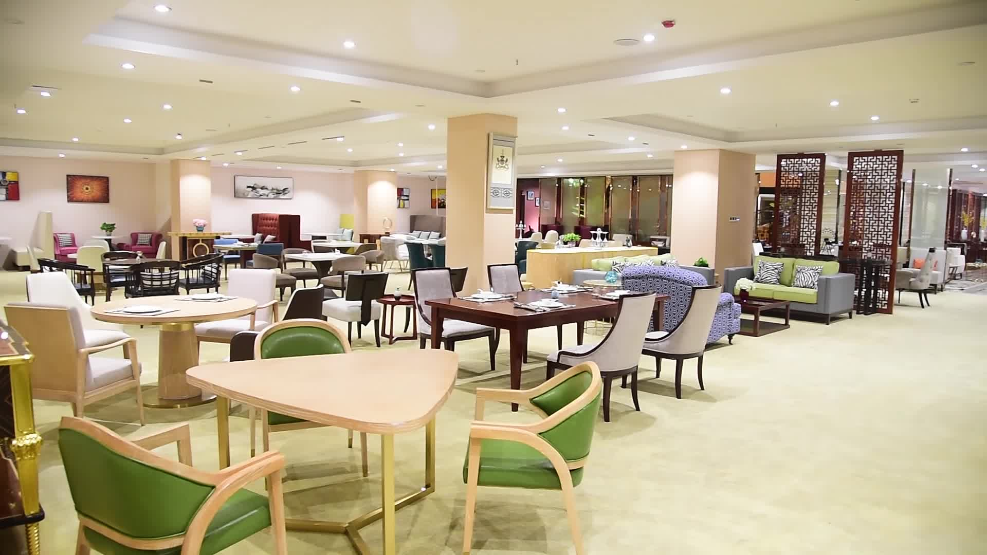 Fast food dubai style eco friendly luxury restaurant furniture for hotel