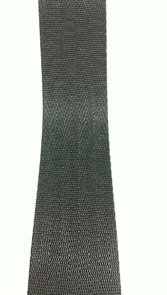 garment and  bag use 4cm width black navy nylon webbing
