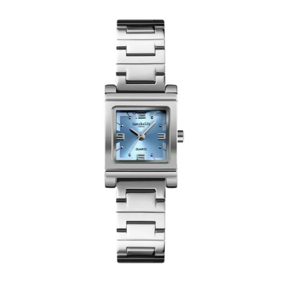 Square Face Watches Ladies Environmental Alloy Classic Fashion Women Watches
